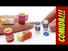 Como fazer Manteiga, Geleia e Requeijão para Barbie e outras Bonecas! - YouTube