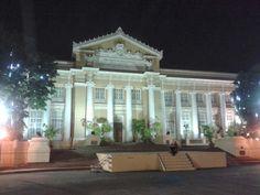 Pangasinan Capitol by night.