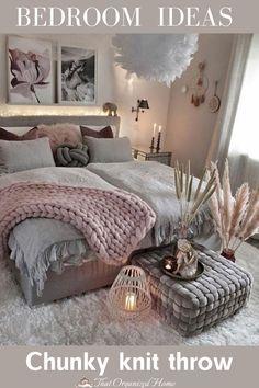 #blanket #bedroomdecor #bedroomideas @gozdee81 Room Ideas Bedroom, Girls Bedroom, Bedroom Decor, Bedrooms, Modern Bedroom, Bedroom Wall, Online Furniture Stores, Furniture Shopping, Cozy Room