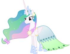 Princess Celestia  Opens The gala By lowering the sun and raising the moon