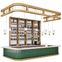restaurant bar models Pack on Behance Lounge Design, Bar Lounge, Design Room, Café Design, Bar Interior Design, Restaurant Interior Design, Design Studio, Bistro Interior, Bistro Decor