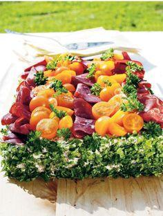 Savuporo-sienivoileipäkakku