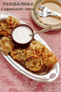 onion and potato bhaji pakora