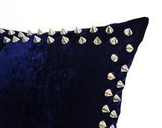 Handcrafted Decorative Throw Pillow Cover in Navy Blue Ve... http://www.amazon.com/dp/B01704CK7O/ref=cm_sw_r_pi_dp_10Srxb0DEQTKR