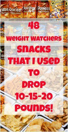 48 Weight Watchers Snacks ww snacks That I Used to Drop Pounds! Weight Watcher Desserts, Weight Watchers Snacks, Weight Watchers Tipps, Weight Watchers Smart Points, Weight Watcher Dinners, Weight Watchers Program, Weight Watchers Dip Recipe, Weight Watchers Products, Snacks