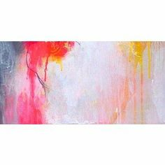 All The Colours Move Abstract Canvas Art