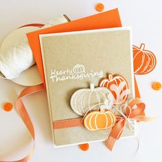 Card-Blanc by Kathy Martin: Hearty Thanksgiving