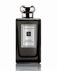 My favorite scent  Dark Amber & Ginger Lily Cologne Intense, 3.4 oz. by Jo Malone London at Neiman Marcus.