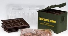 Chocolate ammo, for the tough guys
