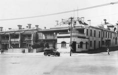 Prince of Wales Hotel at 29 Fitzroy St,corner Acland St,St Kilda in Victoria in 🌹 Melbourne Suburbs, Melbourne Victoria, St Kilda, The Old Days, Prince Of Wales, Common Area, Back In The Day, Old Things, Street View