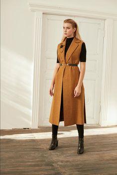 Vest Coat, Maxi Coat, Wool Vest, Duster Coat, Winter Coats Women, Coats For Women, Long Vest Outfit, Winter Coat Outfits, Fall Outfits