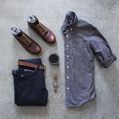 Grid by: Allen Walker ______________ for more grids. – Original Head - Touching and Emotional Image Casual Wear, Casual Outfits, Men Casual, Smart Casual, Mode Outfits, Fashion Outfits, Mens Fashion, Fashion Clothes, Streetwear