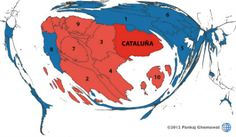 Catalonia and cartography: Trading places   The Economist
