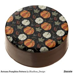Autumn Pumpkins Pattern Chocolate Covered Oreo Cookie Icing, Oreo Cookies, Chocolate Dipped Oreos, Oreo Pops, Thanksgiving Treats, Cookie Gifts, Confectionery, Fall Pumpkins, Corn Syrup