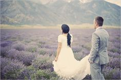 utah wedding photography lavender fields