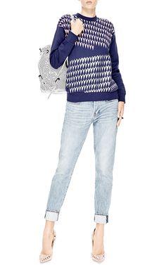 Printed Cotton-Jersey Sweatshirt by Être Cécile - Moda Operandi