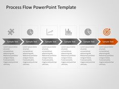 Use this editable Process Flow diagram template to showcase a flow of process or procedure in your business or in a project. This editable flowchart template is a creative way of illustrating business process flow, planning process steps and more. Process Flow Chart Template, Flow Chart Design, Data Flow Diagram, Process Flow Diagram, Diagram Design, Powerpoint Slide Templates, Powerpoint Tutorial, Process Infographic, Infographic Powerpoint