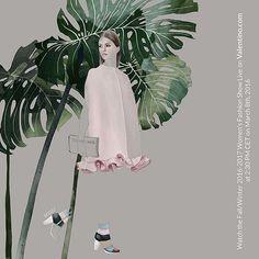 @maisonvalentino illustration for @drawadot open call -- Agata Wierzbicka