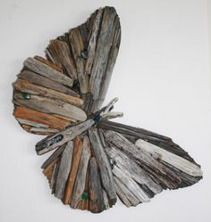 Butterfly made from Driftwood
