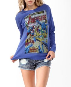 The Avengers+ Hoodless sweatshirt?? My dream come true!! :D