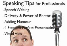 Public speaking for lawyers