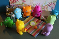 Picnic with the uglydolls