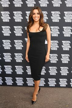 Eva Longoria proves a LBD never goes out of style.