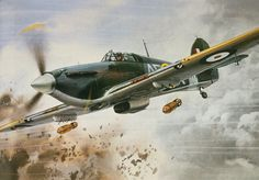 Roy Cross - Hurricane llB