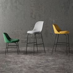 """Spanish designer Jaime Hayon will unveil his new seating collection for Valencian brand Viccarbe during this year's Milan design week, inspired by the """"physiognomy and movement of sharks""""."""