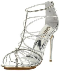 Badgley Mischka Women's Nisha II Sandal,Silver Leather,8 M US Badgley Mischka,http://www.amazon.com/dp/B00APPD4H6/ref=cm_sw_r_pi_dp_Msh3sb0JSV3FFD8Q