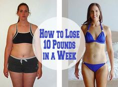 How to Lose 10 Pounds in a Week? Proven Tips in 3 Categories to Lose 10 Pounds