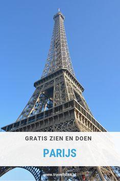 Gratis bezienswaardigheden in Parijs die de moeite waard zijn om te bezoeken. Een bezoek aan Parijs hoeft niet duur te zijn want deze bezienswaardigheden kosten je helemaal niks! Plannen voor een stedentrip of weekendje Parijs? Lees dan alle tips op www.travelbliss.nl | reizen | reistips | reisblog | bezienswaardigheden Parijs | stedentrip Parijs | #reizen #travelbliss #reisblog #parijs Saving Money, Dutch, Building, Travel, Europe, Blogging, Viajes, Dutch People, Save My Money
