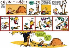 Calvin and Hobbes Comic Strip, October 14, 2012 on GoComics.com