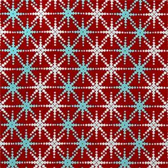 This is a red, white and blue snow flake drapery print fabric by Premier Prints. This fabric is perfect for any home decorating project.v114IFR