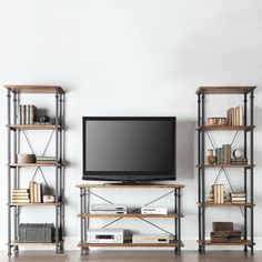 TRIBECCA HOME Myra Vintage Industrial Modern Rustic Bookcase - Overstock Shopping - Great Deals on Tribecca Home Media/Bookshelves