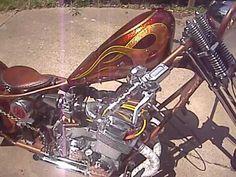Honda chopper - lunchbox1971