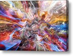 The God Of All Comfort Canvas Print / Canvas Art By Margie Chapman