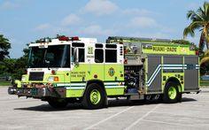 Miami-Dade Fire Rescue Engine 21 2003 Pierce Quantum 1500/750/20F.