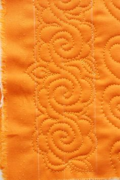 The Large Flower, Free Motion Quilting Tutorial