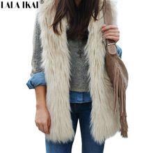 Compra black faux fur coat y disfruta del envío gratuito en AliExpress.com 5eb3f59de3e5
