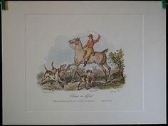 $19.99 Equestrian Animal Art Print, Chiens en defaut by Carle Vernet