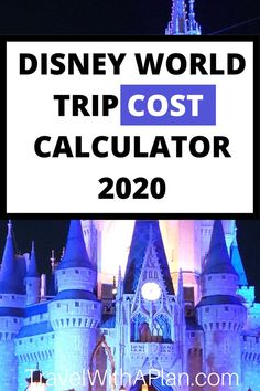 Our fantastic Disney World cost calculator will help you account for all of the costs associated with a Disney World vac Disney World Packages, Disney World Tickets, Disney World Parks, Walt Disney World Vacations, Disney Worlds, Disney On A Budget, Disney World Vacation Planning, Disney Planning, Orlando Vacation