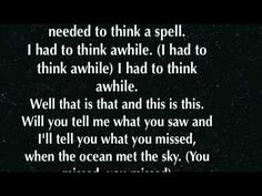 The Ocean Breaths Salty - Modest Mouse (With lyrics)...... brings me back to Hilton Head.