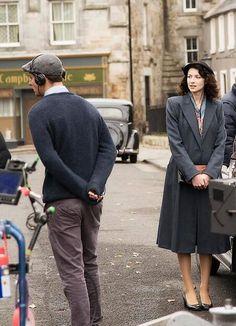 #outlander filming #claire #outlander #outlander_starz