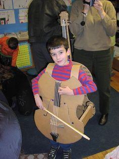 Cello Costume
