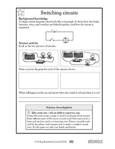 activities circuit diagram and worksheets on pinterest : circuit diagram worksheet - findchart.co