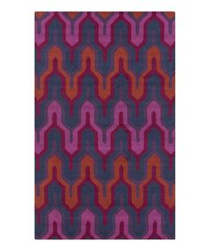 This Red & Violet Brentwood Rug by Surya is perfect! #zulilyfinds