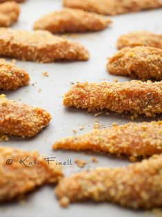 Kananugetit / Homemade chicken nuggets Homemade Chicken Nuggets, Cookies, Baking, Breakfast, Garden, Kitchen, Desserts, Recipes, Food