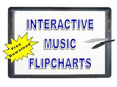 Music with Mrs. Dennis: Interactive Music Flipcharts