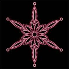 Candlewicking Snowflakes